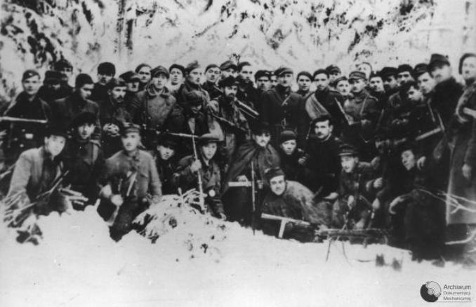 The last photo of the 4th Company 2nd Battalion 2nd AK Infantry Regiment Radom-Kielce January 1945