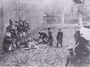 Execution of Poles by German Einstazkomando October 1939