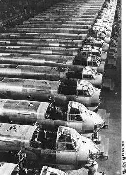 German production of bombers WW2