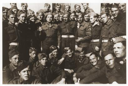 some members of Polish Home Army WW2