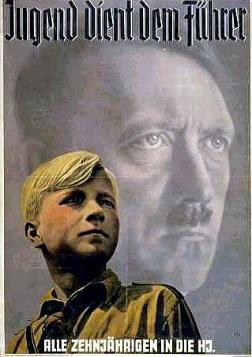 Jugen Hitler Youth Poster WW2