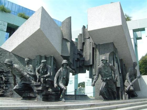 Monument to Polish Fighters of Warsaw Uprising