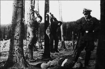 Nazi torture method Polish victims