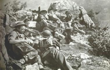 Polish soldiers Monte Cassino