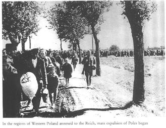 Polish civilians expelled from Western Poland, WW2