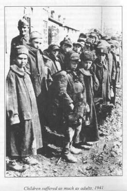 Polish children POWs in Russia 1941