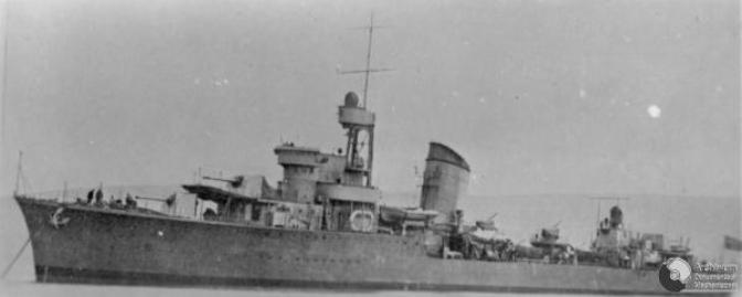 Polish Destroyer ORP Blyskawica