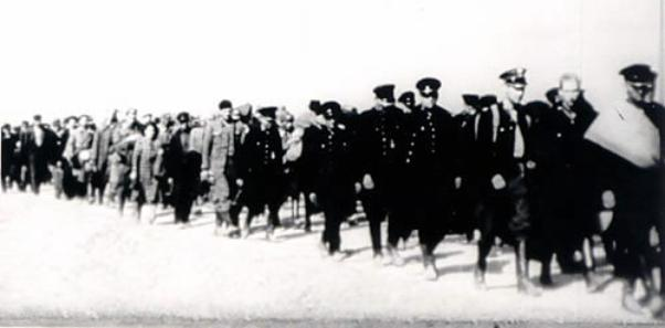 Polish Officers and civilians arrested by Red Army September 1939