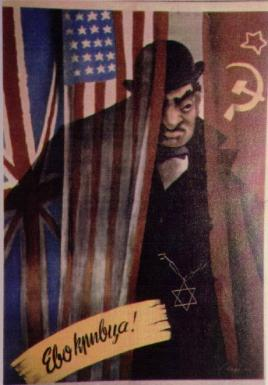 Anti-Semetic Nazi Propaganda WW2