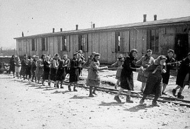 Women in Nazi Labor Camp