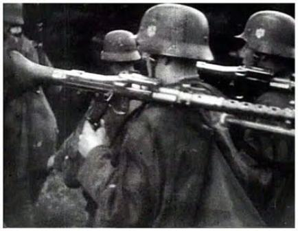 German infrantry invasion of Poland September 1939