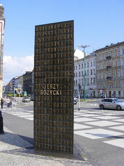 MONUMENT TO POLISH CODE BREAKERS OF THE ENIGMA