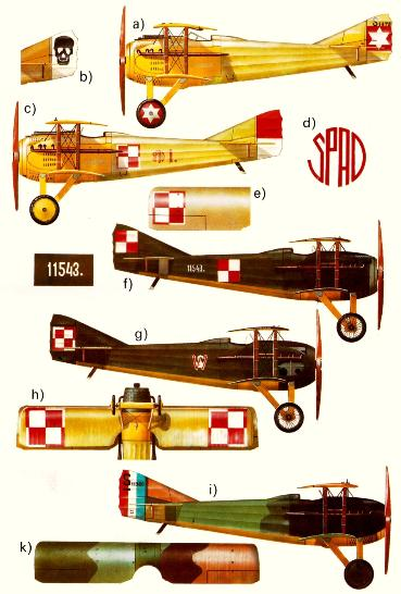 Polish Air Force Spads